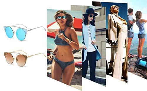 légères Lunettes en Femmes Protection YTTY métal Ultra Mode UV de de Classique Lunettes Soleil F p0wSqUY