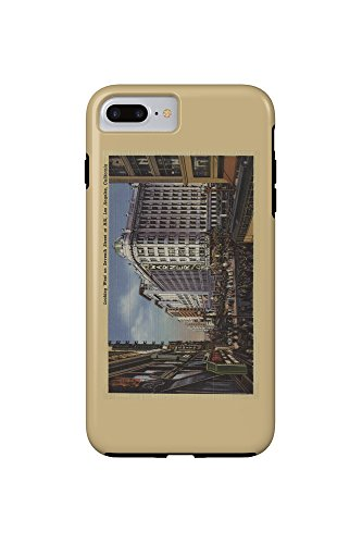 Los Angeles, CA - View of Warner Bros. on 7th St. (iPhone 7 Plus Cell Phone Case, - St Angeles Ca Los 7th