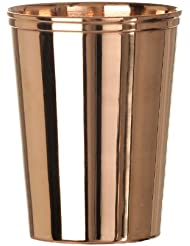 Indian 100% Pure Copper Glass Cup Tumbler for Drinking Water, Set of 6