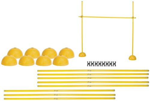Champion Sports Agility Hurdle Set, Yellow