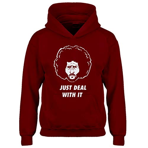 Indica Plateau Kids Hoodie Just Deal with It Large Red Hoodie