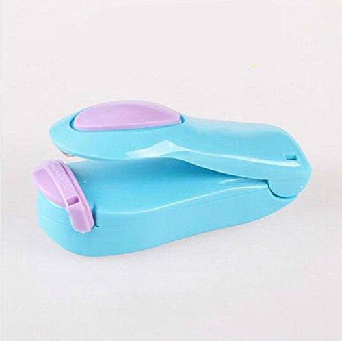 Bag King Coupons (Plastic Bag Sealer - Mini Food Sealer - 1 Piece Portable Household Mini Heat Sealing Machine Ceramic Impulse Sealer Seal Packing Capper Plastic Bag Sealer)