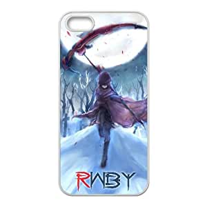Ruby Rose Rwby Anime iPhone 4 4s Cell Phone Case White WON6189218011122