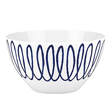 Lenox China kate spade Charlotte Street East Squiggle Soup/ Cereal Bowl