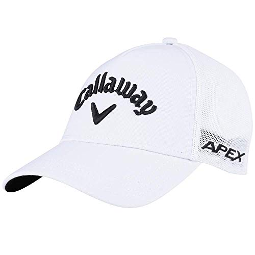 Callaway Golf 2019 Tour Authentic Trucker Hat, White