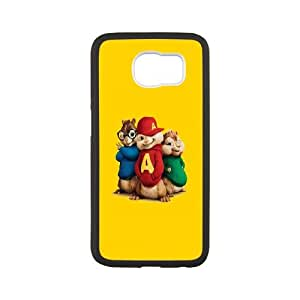 Samsung Galaxy S6 Cell Phone Case Black Alvin and the Chipmunks Xglyt