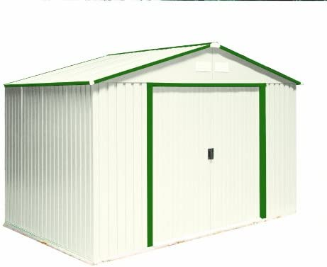 amazon com duramax model 50214 10x8 colossus metal shed with