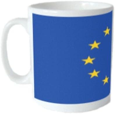 Taza con bandera de la Unión Europea: Amazon.es: Hogar