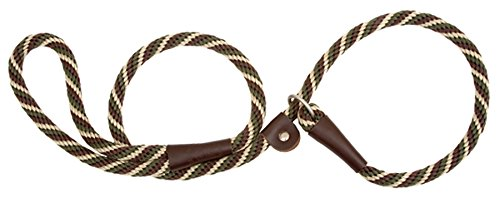 Mendota Products Slip Lead,  1/2' X 6', Woodlands, Dogs