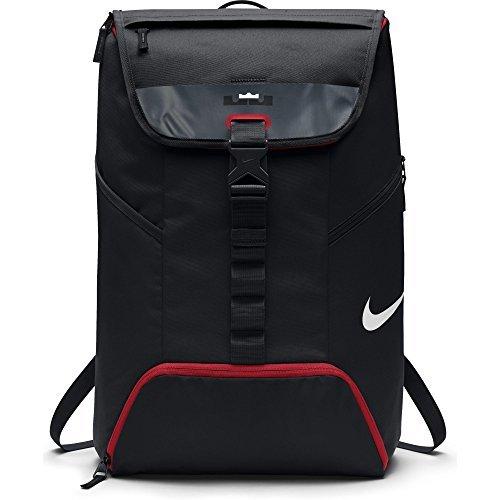 Mens Nike LeBron Max Air Ambassador Backpack Black/University Red Size One Size