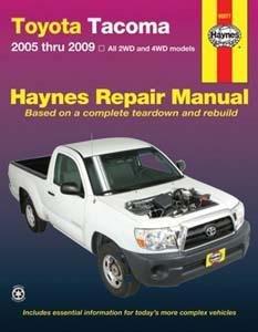 Toyota Tacoma  2005 Thru 2015 All 2Wd And 4Wd Models  Haynes Repair Manual