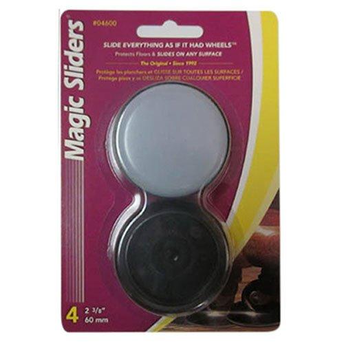 MAGIC SLIDERS L P 4600 4 Pack 2-3/8'' Concave Disc