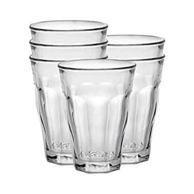 Duralex Made In France Picardie 16-7/8-Ounce Clear Tumbler, Set of 6