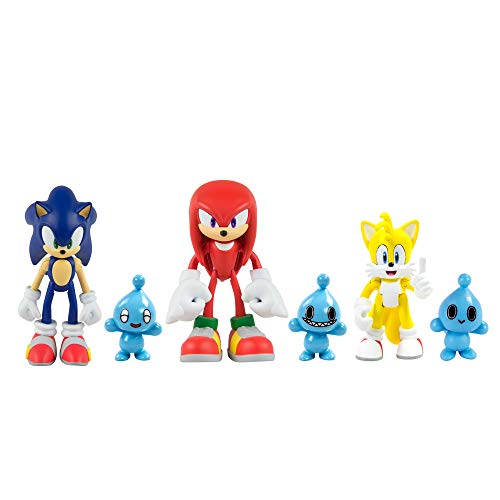 """Sonic Classic 3"""" Figure 3 Pack with Chao"""
