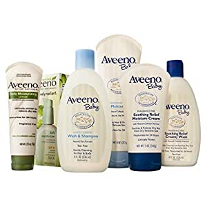 Aveeno baby and mother essential daily care set - 6 pcs