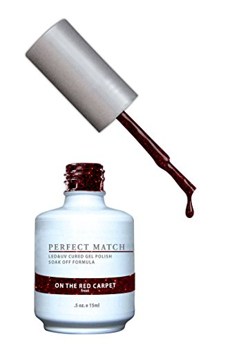 LECHAT Perfect Match Nail Polish, On The Red Carpet, 0.500 O