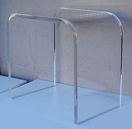 16' Wide x 12' deep x 18' high x 3/4' Thick Clear Acrylic end Table or...