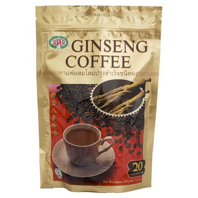Super Instant Coffee Mixed Ginseng 400g. (20g.x20 Sachets): Home & Kitchen