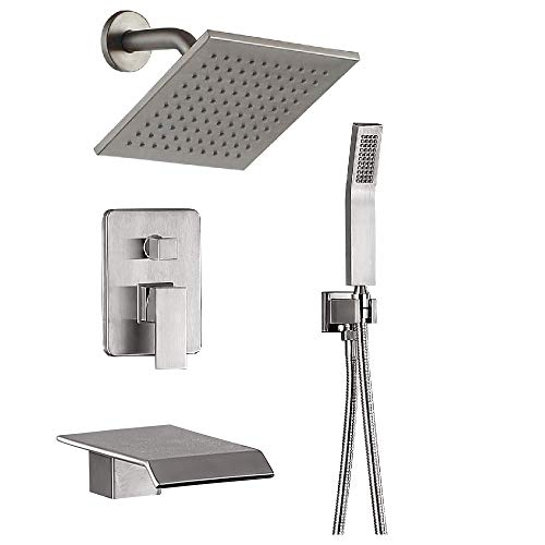 tub and shower faucet combo - 8