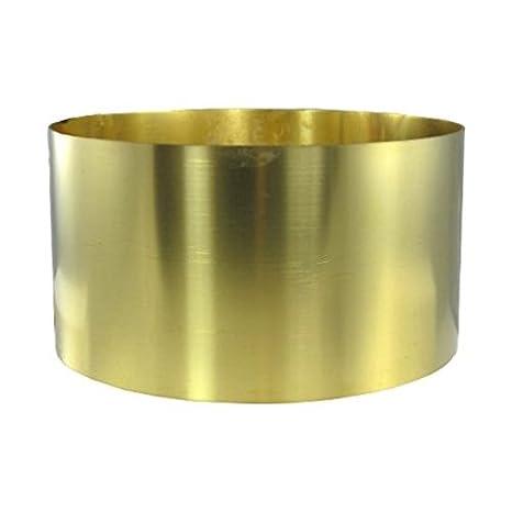 BRN25 6 X 100 .025 Brass Shim Stock
