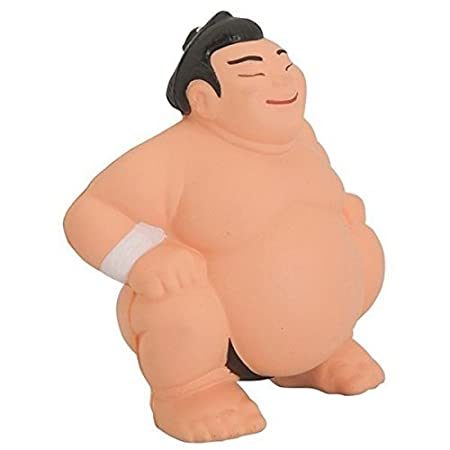 Me So Funny Sumo Wrestler Squeezies Stress Reliever Ball   Fun Gag Gift by Me So Funny