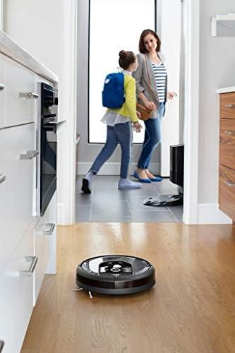 iRobot Roomba i7+ Robot Aspirador Roomba i7+ con con Estación de Limpieza Automática, Color, Pack of/Paquete de 1 18
