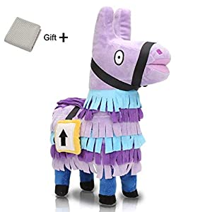 Magneticspace Fortnite Llama Plush Figure - Fortnite Troll Stash Llama Stuffed Toy, Stuffed Animals Toy for Video Gamer,Kids,Child Birthdays Gifts