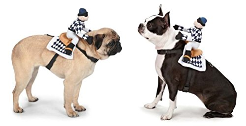 [Moondon SMALL SHOW JOCKEY SADDLE HARNESS COSTUMES for DOGS Doubles as Harnesses CLOSEOUT] (Link Dog Costumes)