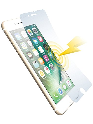 (Power Support Shock-absorbing Anti-glare Film Set for iPhone 7 Plus)