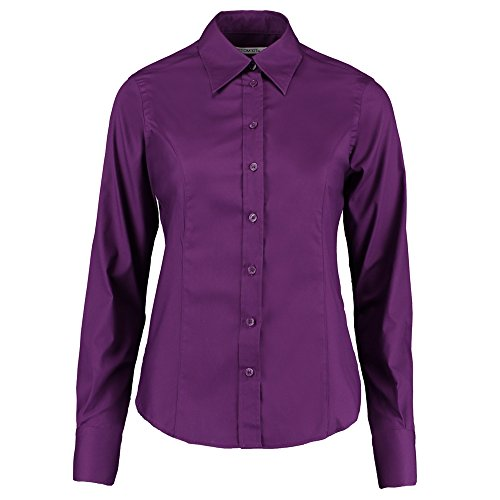 Kustom Kit - Camisas - para mujer Morado Oscuro