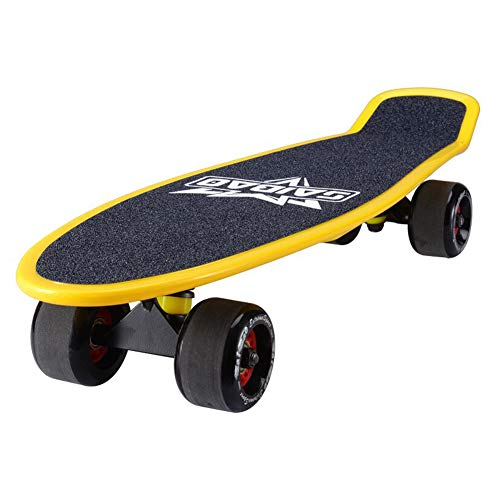 Vortex Skateboard Wheels - Scooters Complete Skate Board Small Fish Skateboard for Adult Kids Beginners, 26