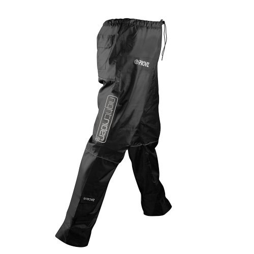 Proviz Nightrider Waterproof Trousers, Black, womens size 10