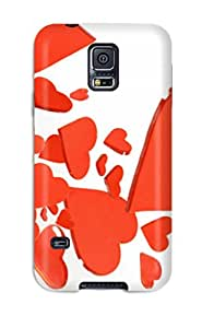 ZippyDoritEduard Scratch-free Phone Case For Galaxy S5- Retail Packaging - Symbol Love