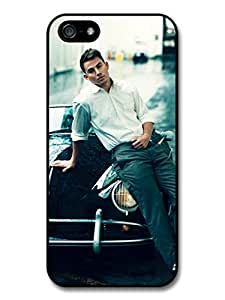 Channing Tatum Car Posing Actor Portrait case for iPhone 5 5S A1307