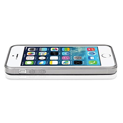 Bingsale Gel-Schutzhülle für iPhone 5 5S, flexibel, dünn