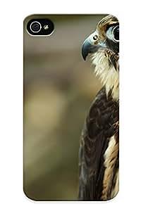 Ellent Design Bird Predator Profile Falcon Phone Case For Iphone 4/4s Premium Tpu Case For Thanksgiving Day's Gift