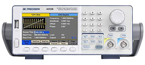 BK 4055B 60 MHz Dual Channel Function/Arbitrary Waveform Generator
