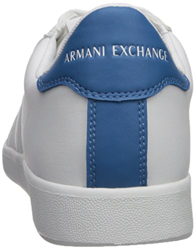 Logo Armani Low Cut Men Sneaker Exchange White A Tonal X FTvq66wR