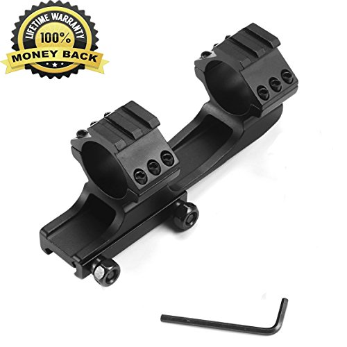 Twod Rifle Scope Mount Rings 30mm Cantilever for 20mm Picatinny Rail Nikon Leupold Vortex Burris and Other Optics