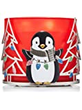 Bath and Body Works Sweet Penguin and Trees 3 Wick Candle Sleeve Candle Sold Seperate