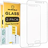 Image of [2-PACK]-Mr Shield For Samsung Galaxy J3 / Galaxy J3 (2016) [Will NOT For J3 Prime] [Tempered Glass] Screen Protector with Lifetime Replacement Warranty