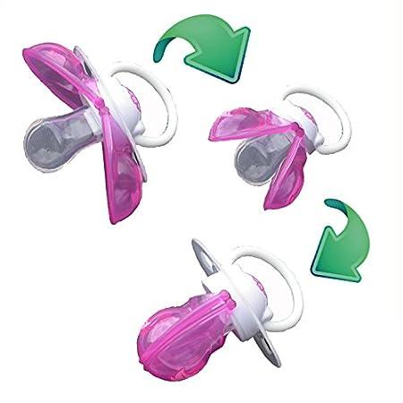 Chupete inteligente de Silicona ortodontisches Perfil tamaño 2 (a través de 6 meses), color rosa