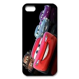 Cubierta estilo personalizado cubierta Película Animada mkCase Plástico (cáscara dura) Caso para el iphone 5 5S - Coches