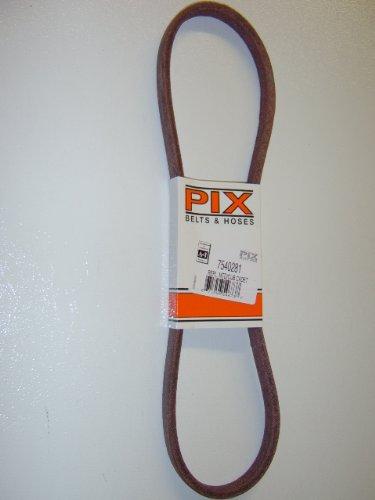 ix Replacement belt made with Kevlar. For MTD, Cub Cadet, Troy Bilt, White, YardMan (Mtd Mower Drive Belt)