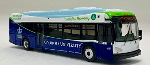 Iconic Replicas New Flyer Excelsior Bus Columbia University 1:87 Scale-HO Scale diecast Bus New
