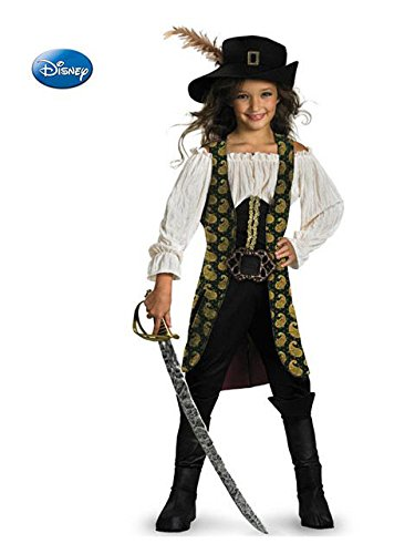 Angelica Girl's Pirates of the Caribbean Costume ()