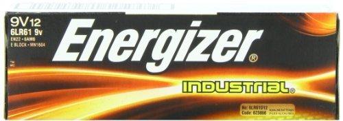 Energizer(R) 9-Volt Alkaline Industrial Batteries (Pack of 3 (12 batteries each)) (Batteries 9v Energizer)