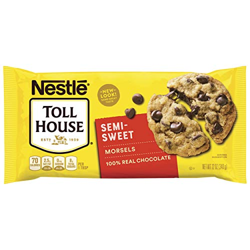 Nestle Toll House Semi-Sweet Chocolate Chip Morsels 12-Oz. Bag (Toll House Semi Sweet Chocolate Chips Ingredients)