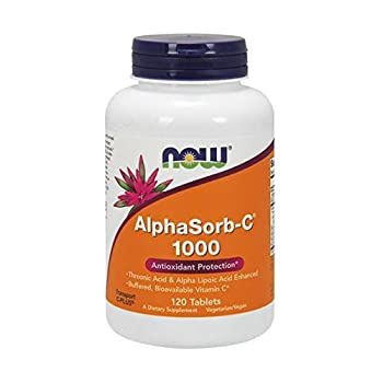 NOW  AlphaSorb-C 1000mg,120 Tablets