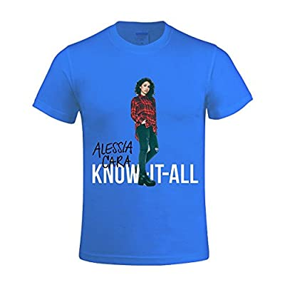 Alessia Cara Know It Men's T Shirts With Designs Round Neck